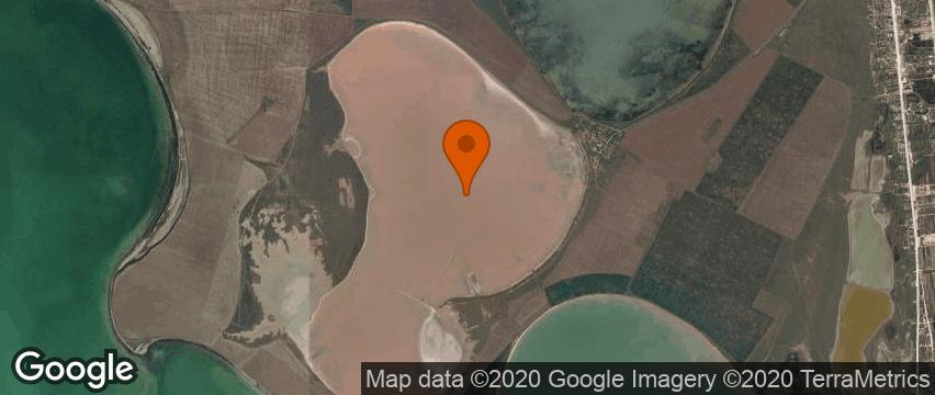 РОЗОВОЕ ОЗЕРО в Приозерном обзор лечебные свойства фото на карте: нажмите для активизации
