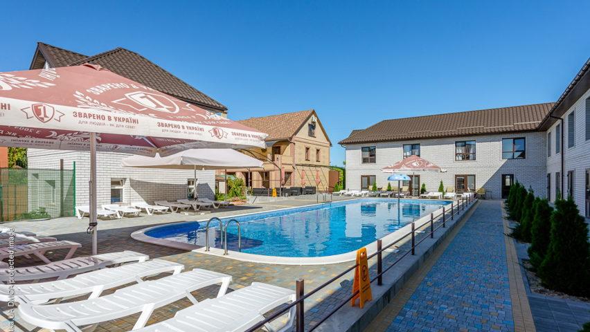 Отель «Джерело» в Генгорке