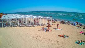 Веб-камера в Генгорке — пляж «Арабатка»