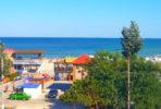 Веб-камера в Геническе: панорамный вид на море и спуск к пляжу