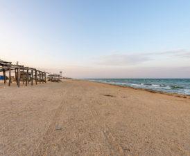 Бархатный сезон на Арабатской Стрелке