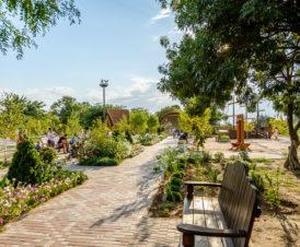 Центральный парк в Счастливцево