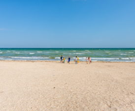 Азовское море на Арабатке