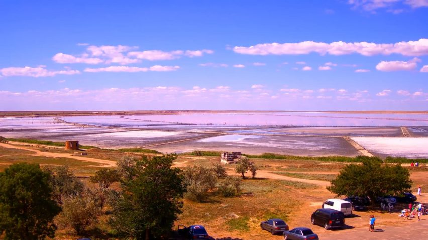 Веб-камера с видом на озеро