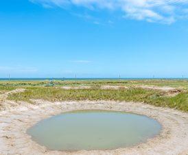 Вид на море с озера