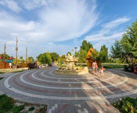 Центральный парк Счастливцево