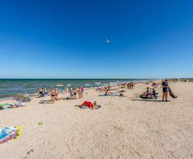 Пляж в Счастливцево возле источника