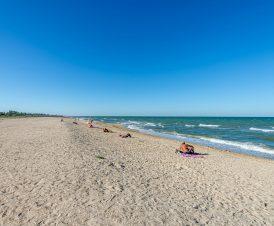 Пляж в Стрелковом