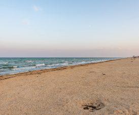 Пляжи Арабатки в «бархатный сезон»