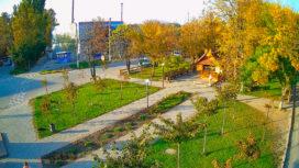 Аллея Сказок в Геническе