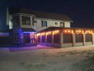 Гостевой дом вечером